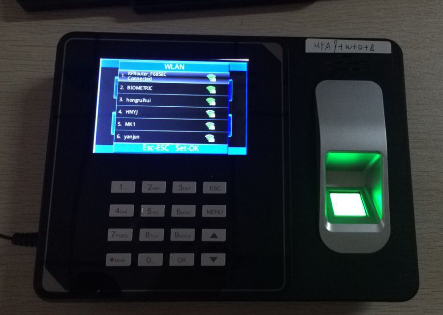 Biometric Attendance System With Wifi